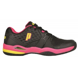 Prince Shoes Women's Warrior Black / Pink