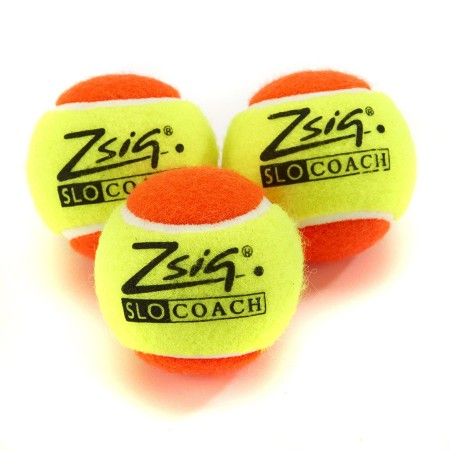 Mini Tennis Orange Stage SLOcoach Orange Balls Bag of 5 Dozen (60)